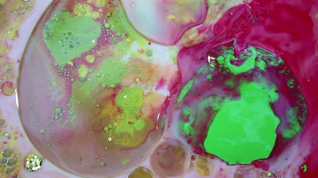 размеры : Abstract Colorful Ink Liquid Paint Explode Diffusion Psychedelic Explosion Motion Стоковые видеозаписи