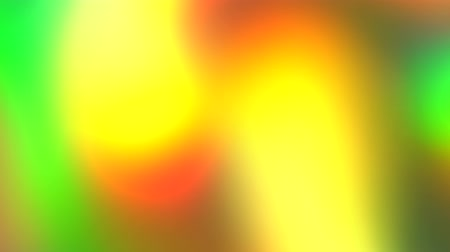 Abstract vivid green, yellow, orange rainbow colors background. Moving light show