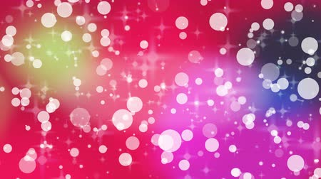 çevre : red light bubbles and star abstract background