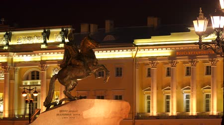 dourado : Monument to Peter the Great. Saint Petersburg