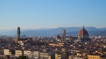 arno : Florence from Piazzale Michelangelo. Italy