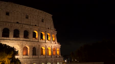 colosseo : The Colosseum at night, Rome, Italy