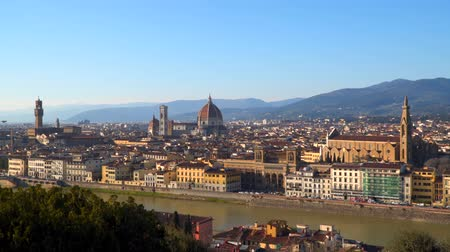 firenze : Historic center of Florence .Tuscany Italy