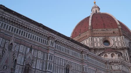 firenze : Italy Tuscany Florence. The Cattedrale of Santa Maria del Fiore. Stock Footage