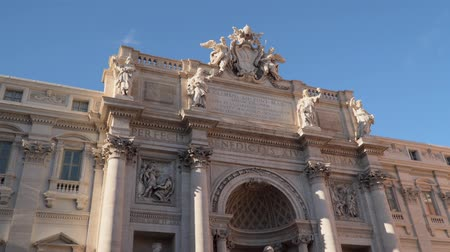 bernini : The famous Trevi Fountain in Rome Italy