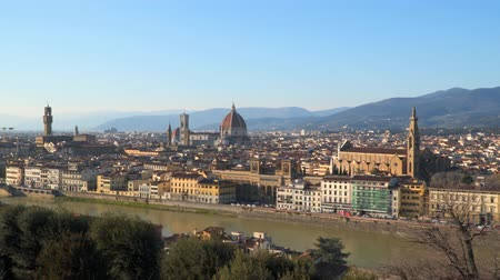 firenze : Florence from Piazzale Michelangelo. The Magical Skyline of Florence