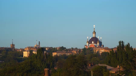 torre sineira : The Church of Mariupol Ukraine