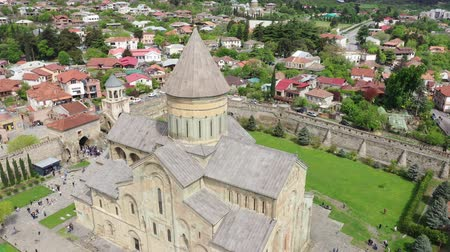 gürcü : Georgian Orthodox cathedral located in Mtskheta, Georgia
