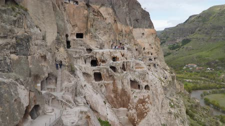 kazılmış : Vardzia - the ancient Cave City of Georgia.