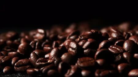 coffee grounds : 1572 Coffee Beans in Slow Motion .mov