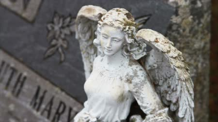 почему : 1110 Stone Angel Next to Grave Stone.mov