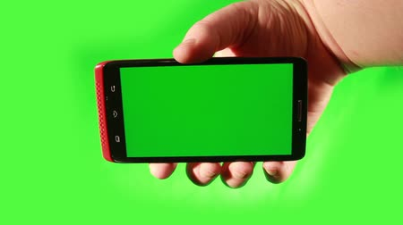 по телефону :  Smart Phone with Green Screen