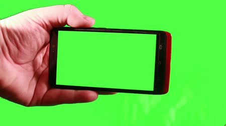 текст : Smart Phone with Green Screen
