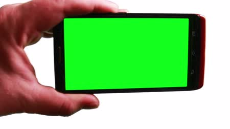 telefones : Smart Phone with Green Screen