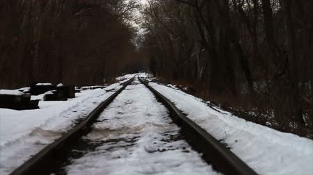 lidércnyomás : Train Tracks in the Snow