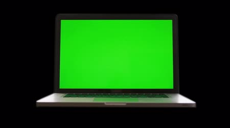 chaves :  Laptop with Green Screen