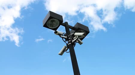 1967 Security Cameras on Light Pole.mov