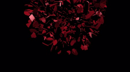 converge : Albania flag sphere converging animation Stock Footage