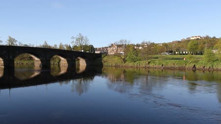 zamek : Causewayhead Road Bridge over River Forth Stirling Scotland