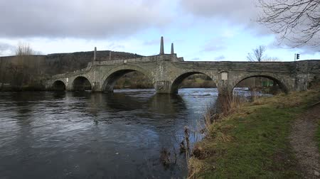 General Wades Bridge over River Tay Aberfeldy Scotland