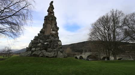 Black Watch memorial Aberfeldy Scotland