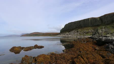 Cliffs of the Doon on the west coast of the Isle of Arran Scotland