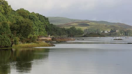 old wooden boats near Salen, Isle of Mull, Scotland