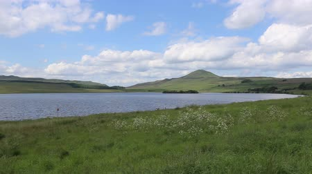 Timelapse of Ballo Reservoir and West Lomond Fife Scotland