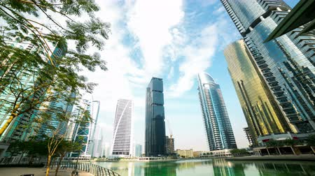 эмираты : office relax place time lapse from dubai city