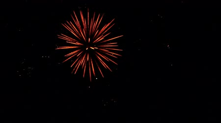 urychlit : End of Celebration: Slowmotion Fireworks in the Sky