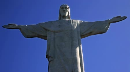 víry : Christ the Redeemer, Rio de Janeiro, September 07. The Christ the Redeemer statue at the top of Corcovado Mountain, is daily visited for hundreds of tourists from all over the world.
