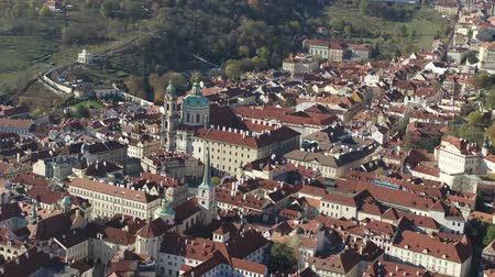 Čechy : Aerial Old Town Square, Prague, Czech Republic