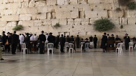 jeruzalém : Western Wall  in Jerusalem