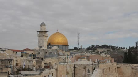wailing : Dome of the Rock. Jerusalem