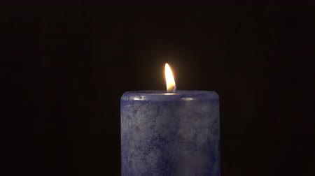 tajemnica : 4K capture of a candle