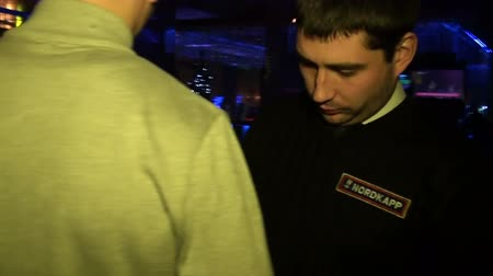 безопасность : The guard in the club, security