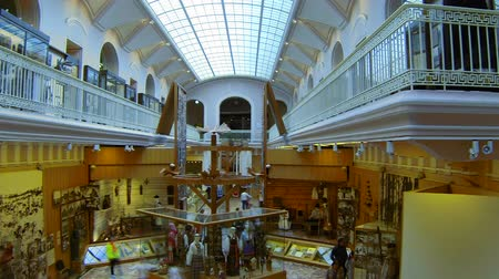 antika : The hall of the Ethnography Museum in St. Petersburg