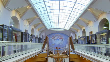 bogaty : The hall of the Ethnography Museum in St. Petersburg