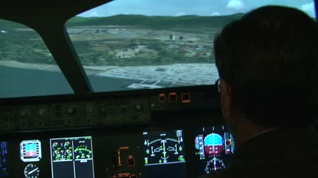 fülke : Aviation simulator