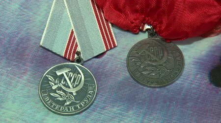 cccp : Veteran of labour medal