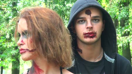 gruesome : Zombies, ghouls, dead Stock Footage