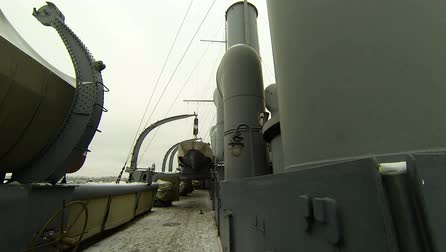 passages : Ships deck of the cruiser Aurora 2.7K, 2704x1536