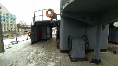 passages : Ships deck of the cruiser Aurora