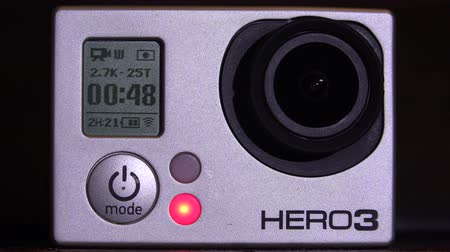 relieves : Working Action Camera. Shot in 4K (ultra-high definition (UHD)