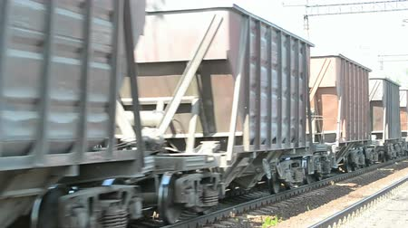 lokomotif : Train with cargo wagon line, transportation