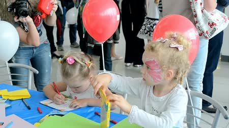 soft tip : KIEV - MAY 31, 2014: NIKO Junior Fest 2014 devoted to International Childrens day. Event organized by VAB leasing, NIKO-Ukraine (official dealer of Mitsubishi Motors in Kiev region).