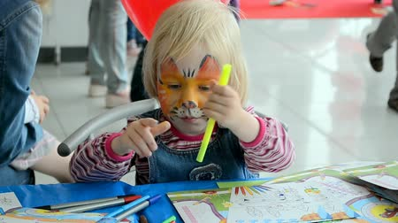 soft tip : International Childrens day. Event organized by VAB leasing, NIKO-Ukraine (official dealer of Mitsubishi Motors in Kiev region). KIEV - MAY 31, 2014: NIKO Junior Fest 2014. Stock Footage