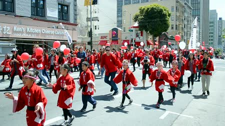 voyager : Cherry Blossom Festival Grand Parade on April 19 2015 in San Francisco USA. 1st Cherry Blossom Festival take place in April 1967.