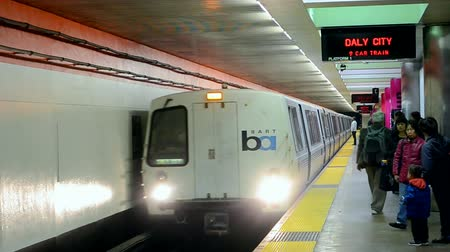 voyager : SAN FRANCISCO- APRIL 20: Bay Area Rapid Transitaka BART - main rail transportation system on April 20,2015 in San Francisco,USA.It was envisioned in 1946,building of the system started in the 1960s.