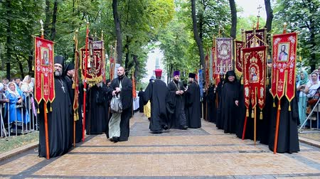 baptized : KIEV - JULY 27: 1000th celebration anniversary of the repose of St. Vladimir on July 27, 2015 in Kiev, Ukraine.